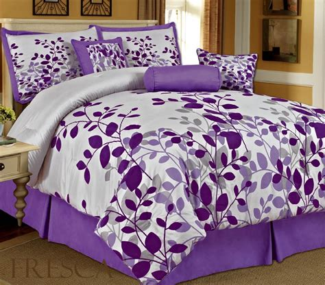 Purple Bed Sets Queen Bedding Sets Purple Homefurniture Org