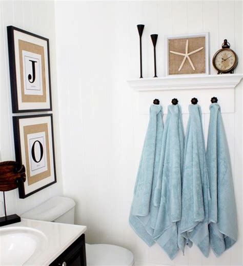 where to hang towels in small bathroom 17 best images about hanging towel solutions on pinterest