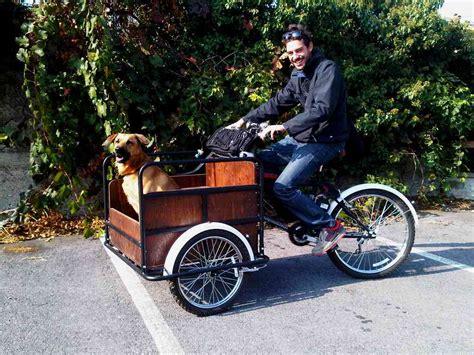 carrello porta cani per bici titan 170 cargo mamy per trasportare spesa bambinio disabili