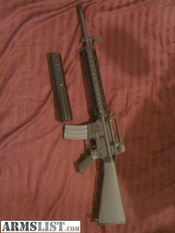 armslist for sale/trade: ar 15 a4 rifle plus trijicon