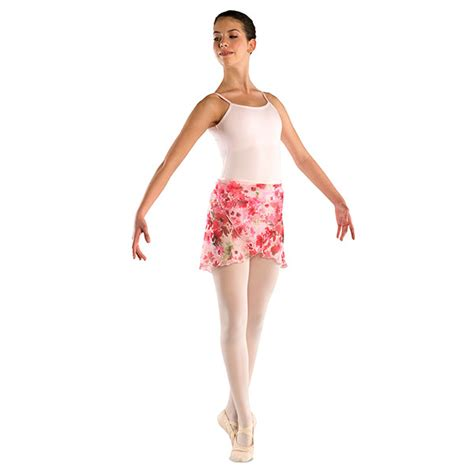 Floral Print Chiffon Skirt 241a floral chiffon print skirt danshuz
