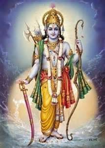 ram hindu god sacred india tarot archive creation of 3 4 of arrows