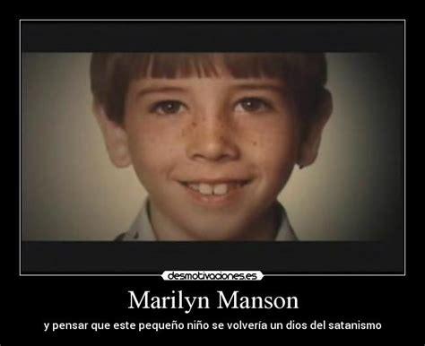 imagenes satanicas de marilin manson marilyn manson desmotivaciones