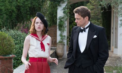 woody allen new film emma stone emma stone and colin firth on working with woody allen