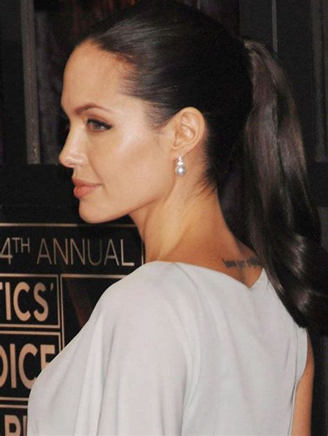 ponytail after 60 176 best angelina jolie s style images on pinterest