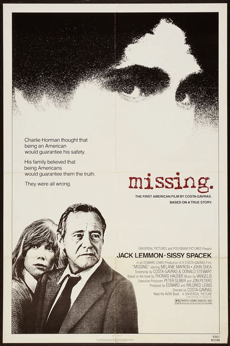 The Missing missing dir costa gavras 1982 discreet charms obscure objects