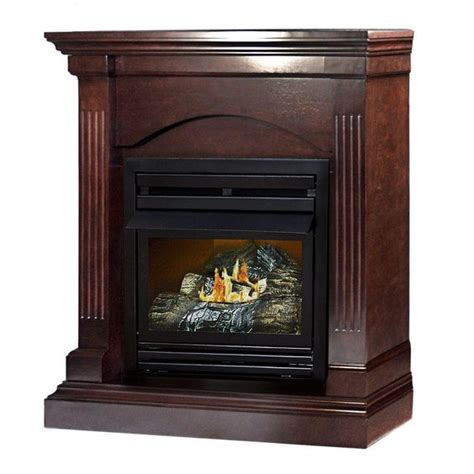 Hearth Fireplace Depot by 35 In Convertible Vent Free Dual Fuel Fireplace In
