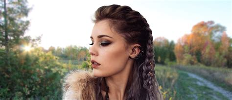 vikings hagatga hairdos vikings lagertha hair tutorial lovehairstyles com