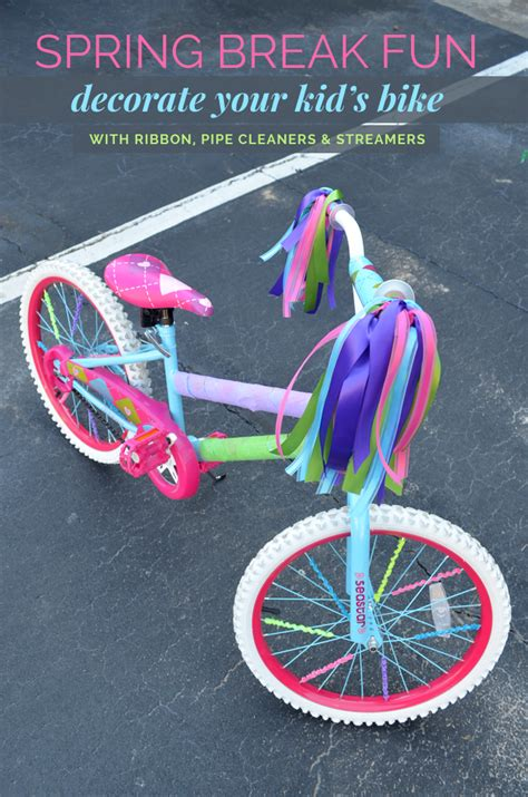 Decorate Your Bike by Diy Idea Decorate Your Kid S Bike