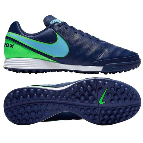 nike tiempox genio ii leather turf soccer shoes cleats