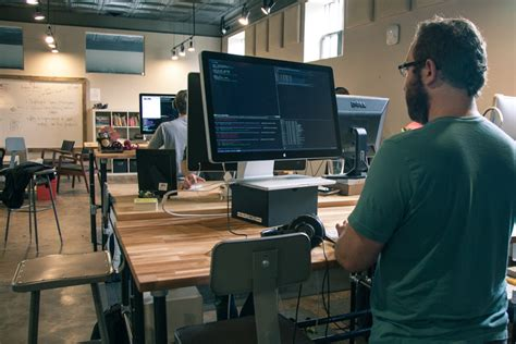 Building An Adjustable Height Standing Desk Video Working At A Standing Desk