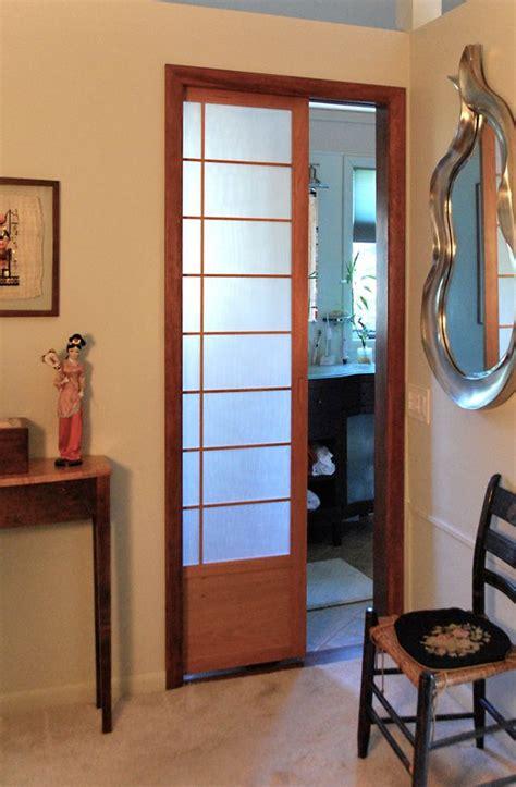 Cherry Tree Design Japanese Sliding Doors Pocket Shoji Japanese Style Closet Doors