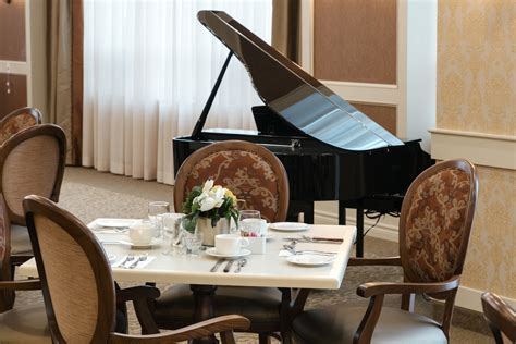 Main Dining Room by Main Dining Room Piano All Seniors Care