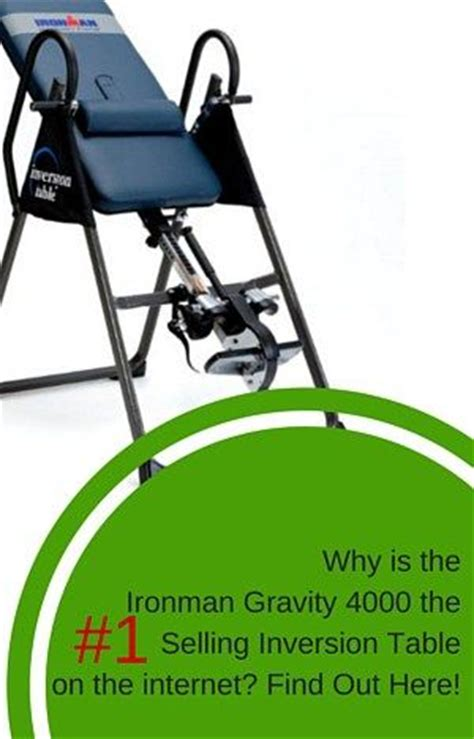 Ironman Inversion Table 4000 by The Ironman Gravity 4000 Inversion Table Review Explains