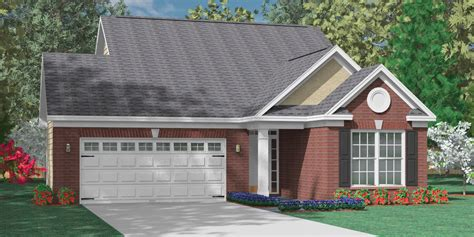 heritage 2 car garage plans southern heritage home designs the foster c house plan