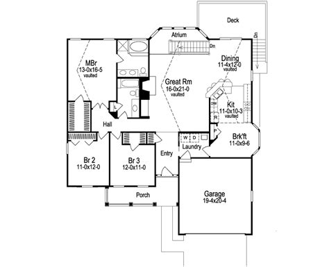 Atrium Ranch Floor Plans | 26 genius atrium ranch floor plans home building plans