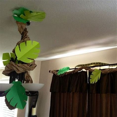 How To Make Jungle Vines Out Of Paper - birthday ideas for jungle room be cool and