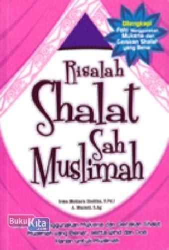 Keranjang Sah bukukita risalah shalat sah muslimah toko buku