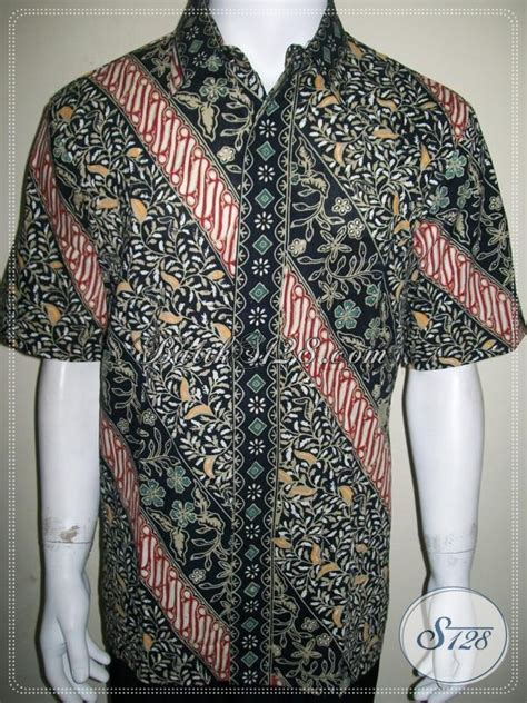 New Kemeja Batik Panjang Songket Pria Kepang Cowo Coklat Toska baju batik elegan untuk laki laki dewasa ukuran l nyaman