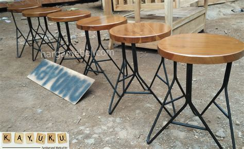 Kursi Dari Besi harga kursi bar besi mebel jepara furniture minimalis