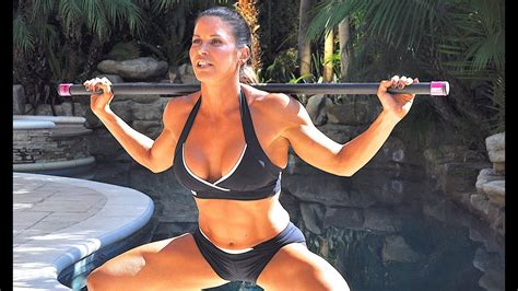 body bar workout weighted bar exercises full body
