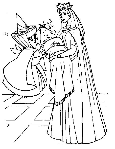 coloring page baby sleeping sleeping beauty coloring pages 360coloringpages