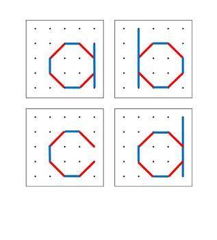 geoboard lower case letter diagrams for pre k