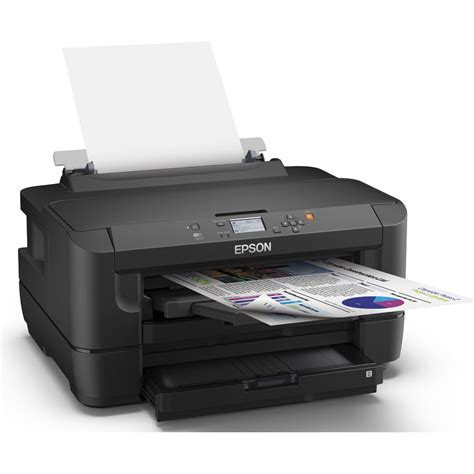 Printer Epson Uk A3 epson workforce wf 7110dtw a3 colour inkjet printer ebay