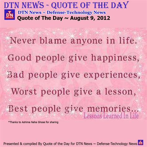 quote of the day a thursday quotes of the day quotesgram