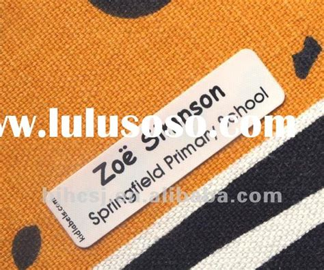printable iron on fabric labels printable iron on labels for clothing