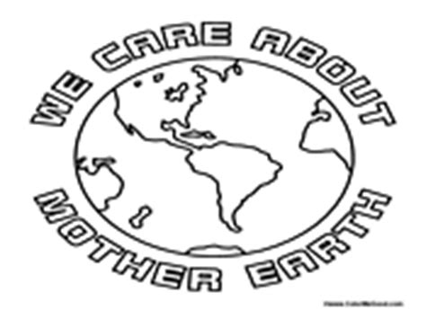 mother earth coloring page earth day coloring pages
