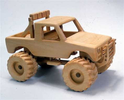toy monster truck videos for kids wooden cars monster 4x4 toy truck plan woodworking