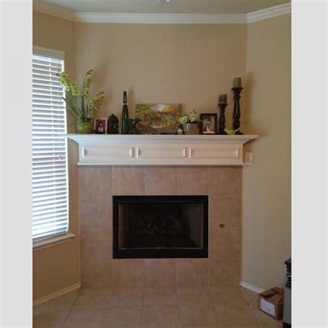 build columns for mantel re tile suggestions