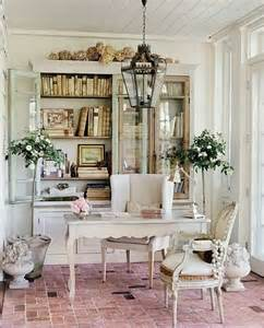 Chic Home Interiors Shabby Chic Home Office Littlepieceofme