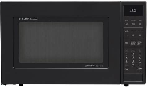 sharp smc1585b 1 5 cu ft countertop microwave oven with