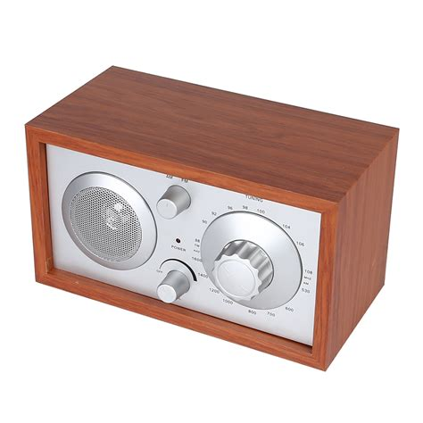 Best Desk Radio by Radioddity Sy 602 Classic Wooden Am Fm Table Top