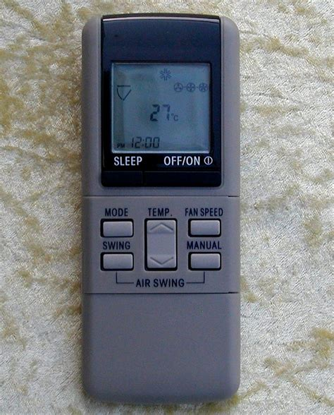 Ac Panasonic New replacement panasonic air conditioner remote