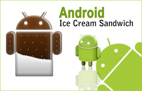 android icecream sandwich android versions list with names and features