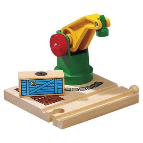 brio wooden toys buy brio classic accessory low level crane wooden toy