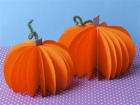 How To Make 3d Pumpkin Out Of Paper - magic belles magic make easy paper pumpkins