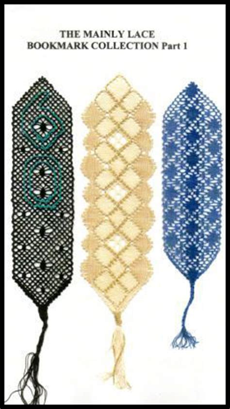 lace making pattern books mainly lace bookmarks book 1 torchon lace making patterns