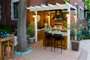 country outdoor kitchen for the home pinterest