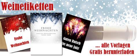 Flaschenaufkleber Weihnachten by Gratis Weinetiketten Als Word Vorlage Zum Download
