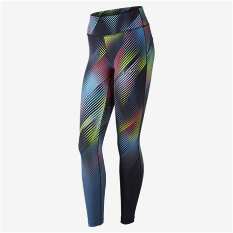 nike pattern running tights nike power epic lux women s running tights nike com il