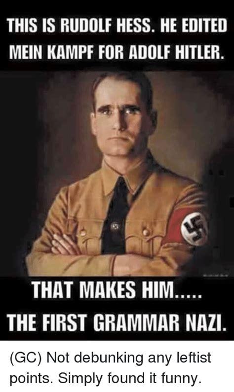 Funny Hitler Memes - 25 best memes about first grammar nazi first grammar