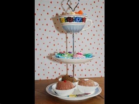 etagere pralinen n 228 hanleitung f 252 r pralinen aus stoff muffins bonbons