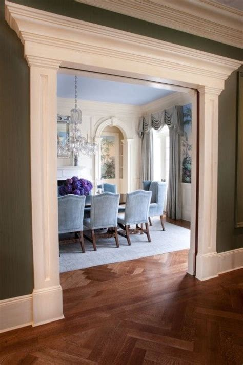 Dining Room Entry Casing 25 Best Ideas About Door Molding On Door