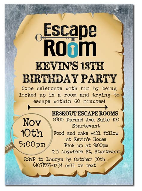 Free Printable Escape Room