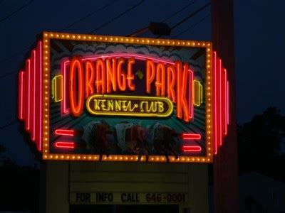orange park track orange park track orange park florida neon signs on waymarking