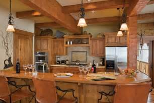 Log Home Kitchen Cabinets Dreamy Log Cabins Custom Log Home In Idaho